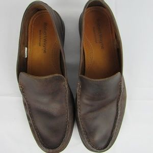 Robert Wayne casual brown loafer size 9D
